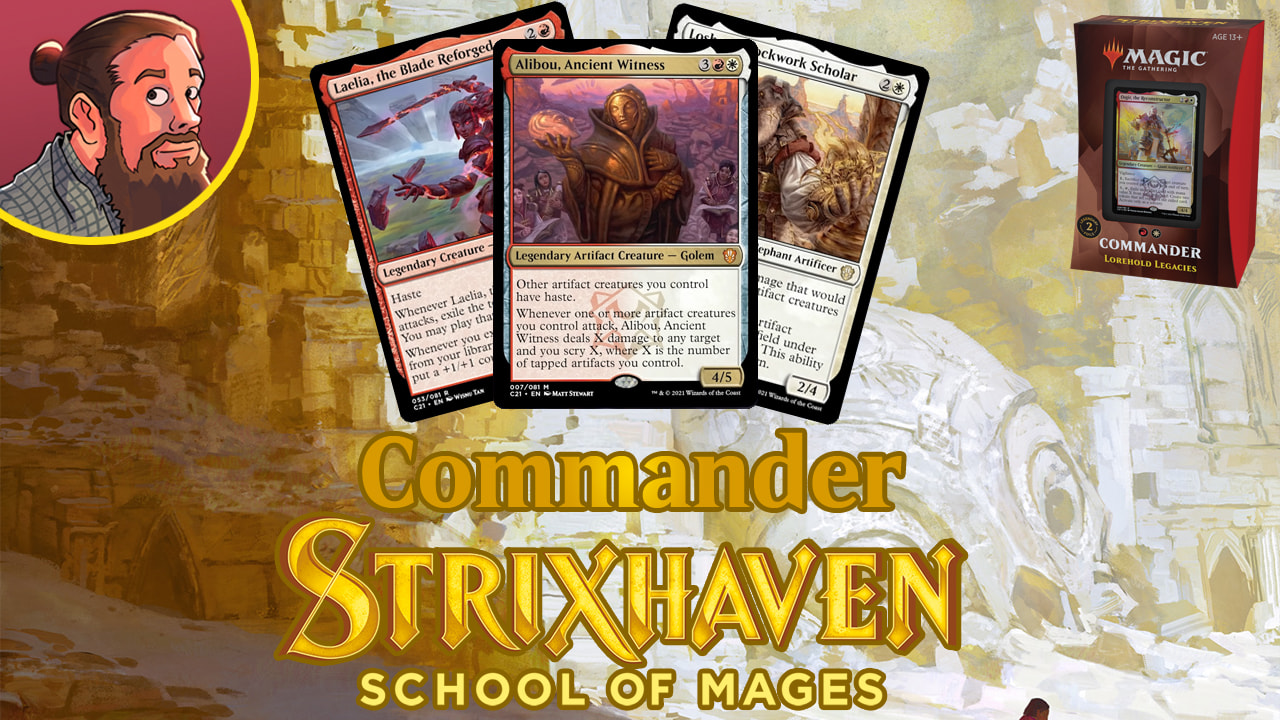 Image for Commander 2021 Spoilers: Lorehold Legacies New Cards & Decklist
