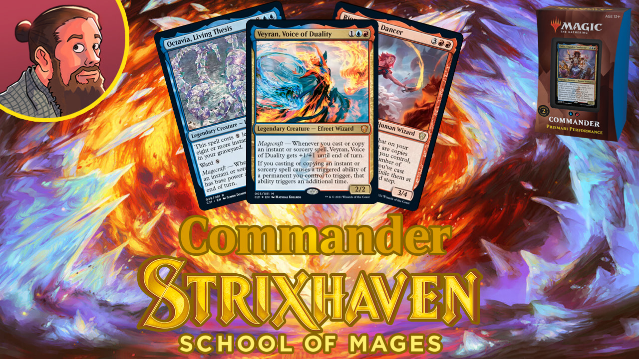 Image for Commander 2021 Spoilers: Prismari Performance New Cards & Decklist