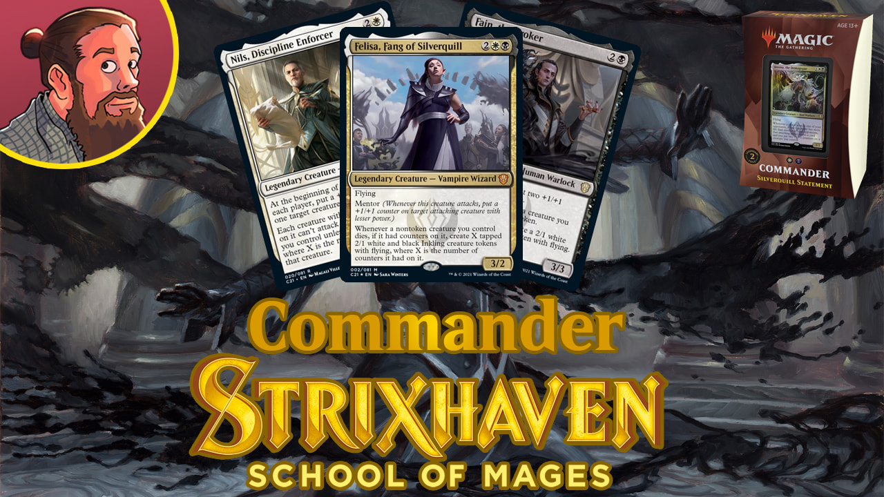 Image for Commander 2021 Spoilers: Silverquill Statement New Cards & Decklist