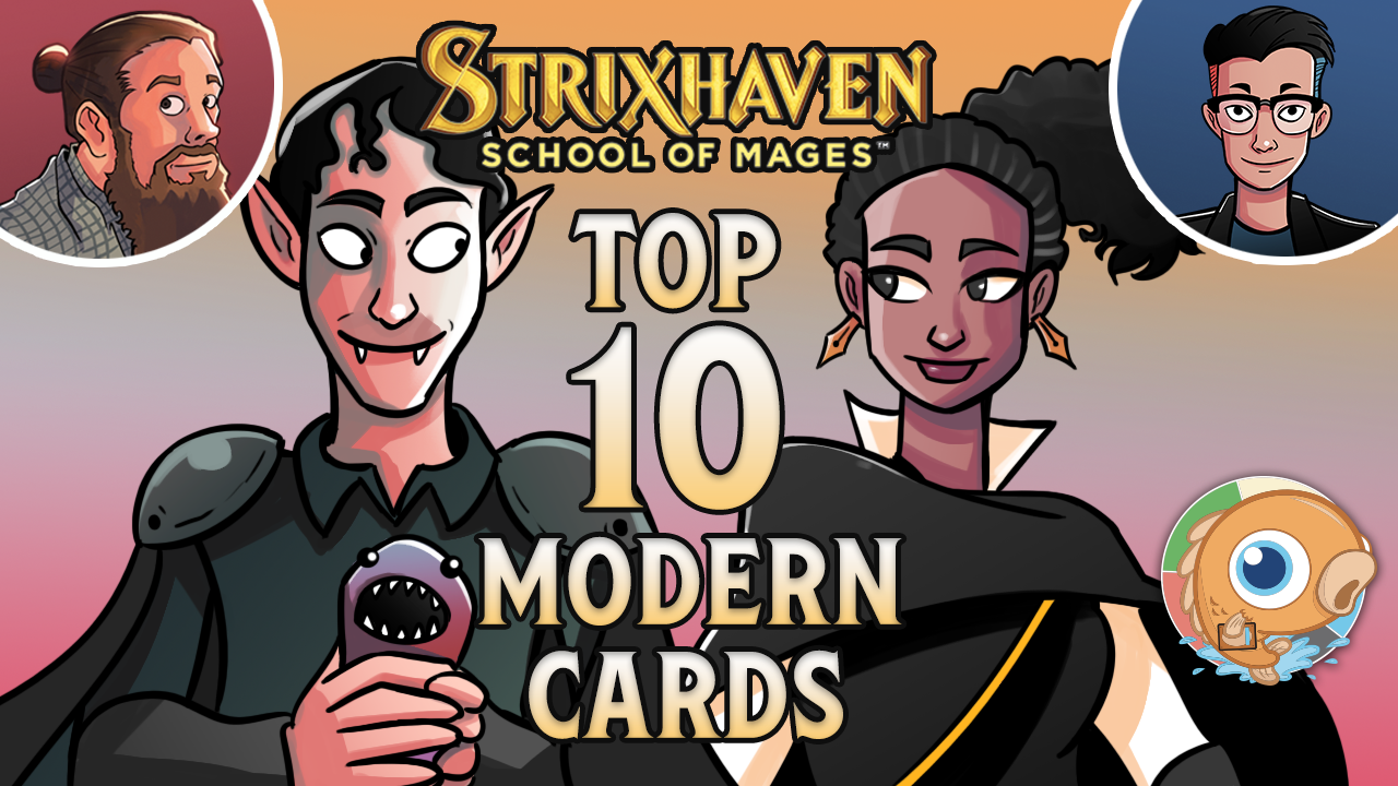 Image for Strixhaven: Top 10 Modern Cards