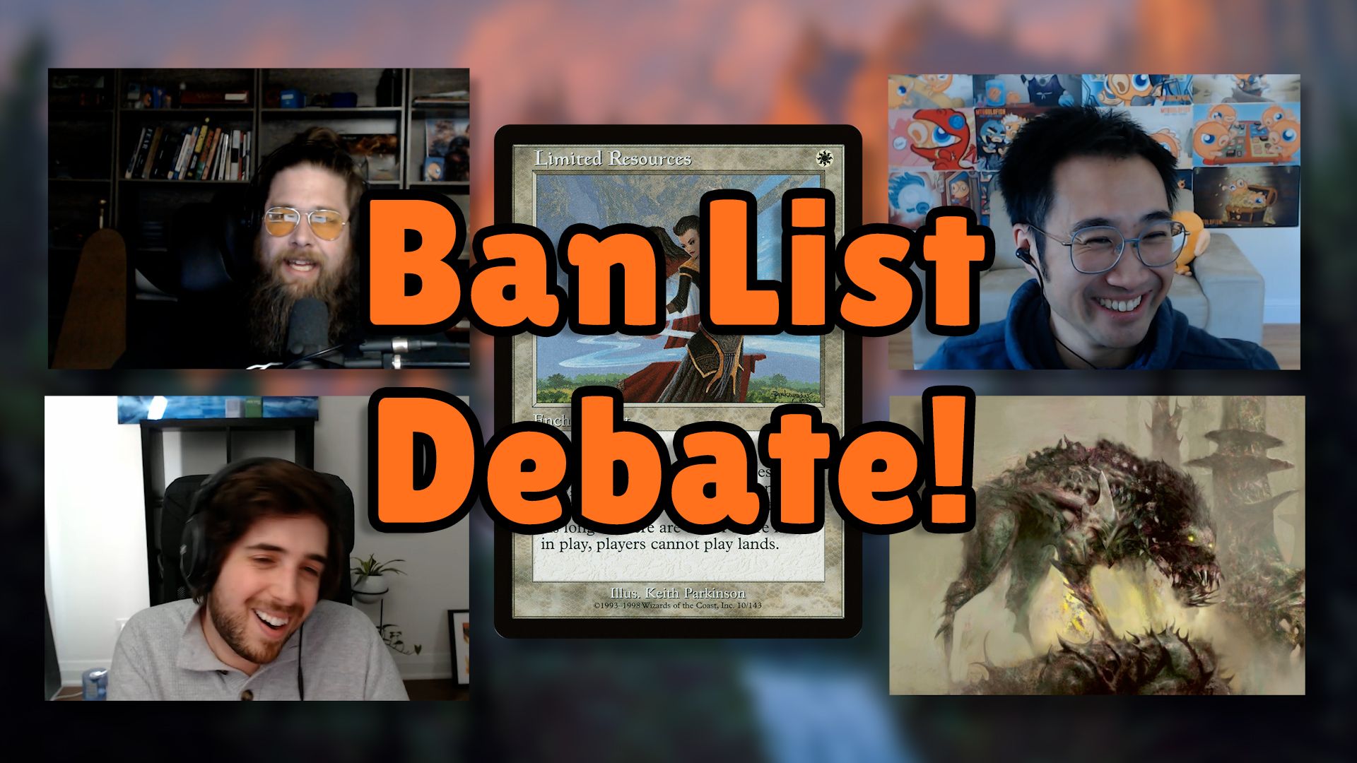 Image for Commander Clash Podcast 005: The Commander Ban List Debate!