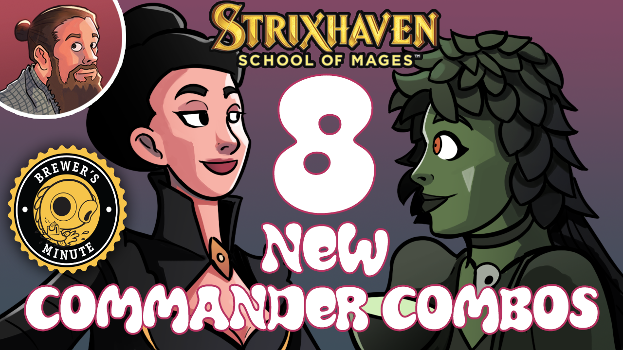Image for Strixhaven: Eight New Commander Combos