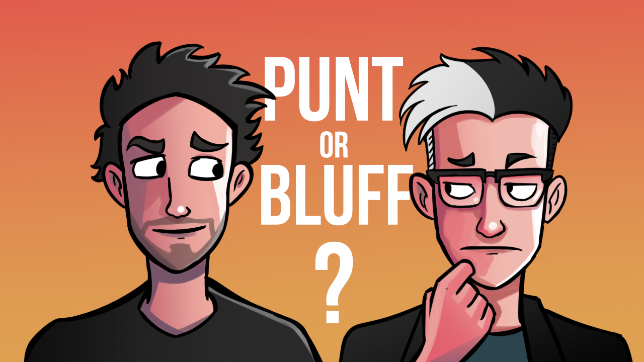 Image for Punt or Bluff?   Commander Clash Moment #14
