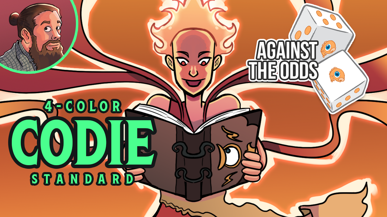 Image for Against the Odds: Four-Color Codie (Standard)