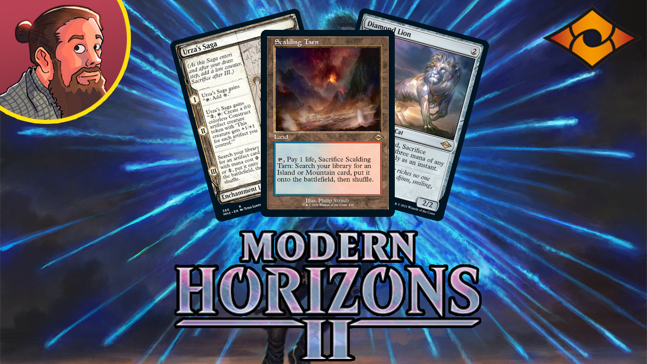 Image for Modern Horizons 2 Spoilers — May 6 | Enchantment Land Saga, Diamond Lion, Fetches