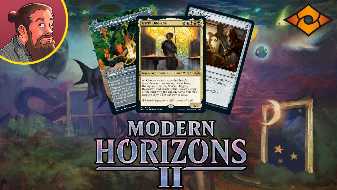 Image for Modern Horizons 2 Spoilers — May 25   New Sword, Black Lotus Copy Maker?!