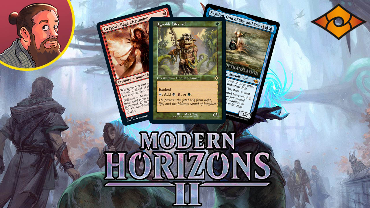 Image for Modern Horizons 2 Spoilers — May 27   Jund Hierarch, Green Urborg