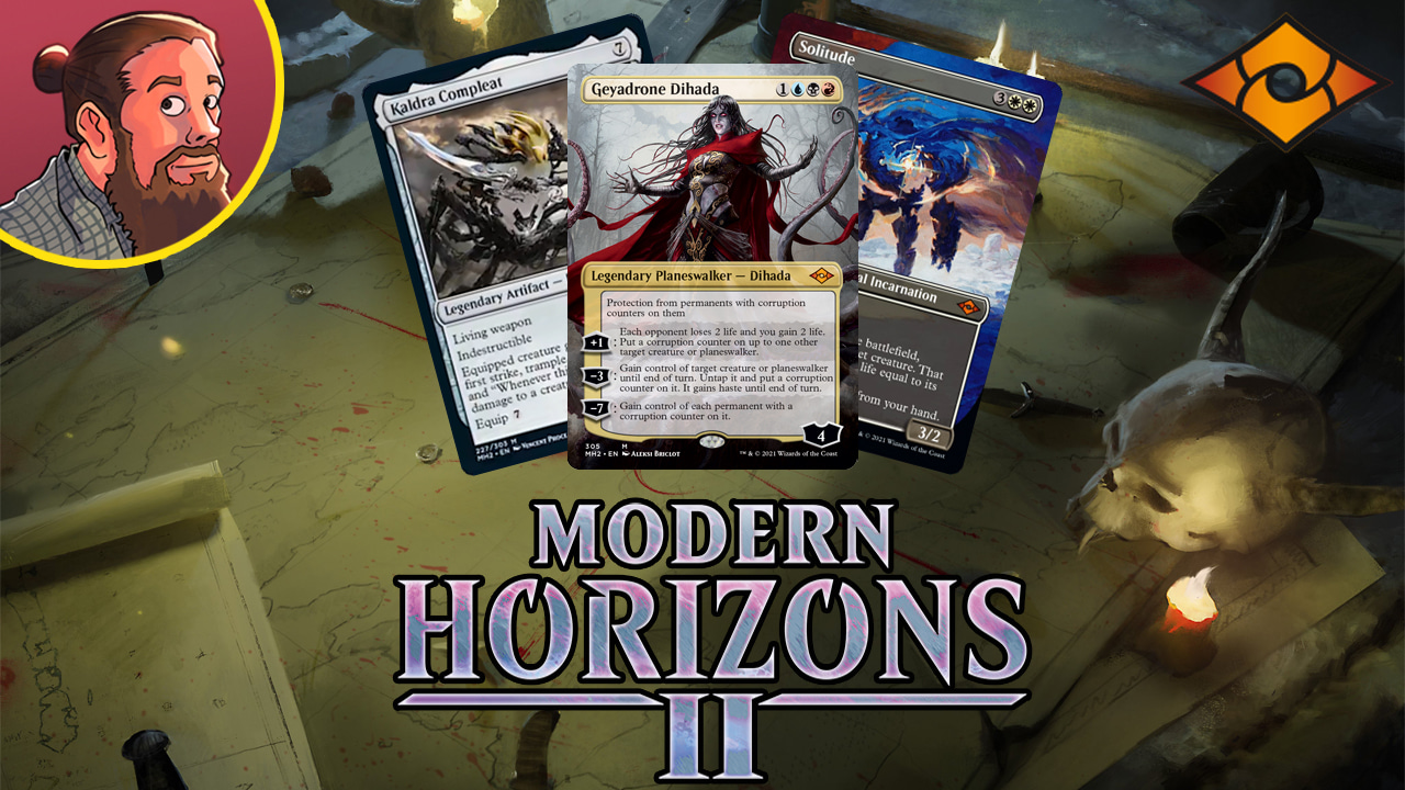 Image for Modern Horizons 2 Spoilers — May 28   New Swords to Plowshares, White Rhystic Study, Kaldra