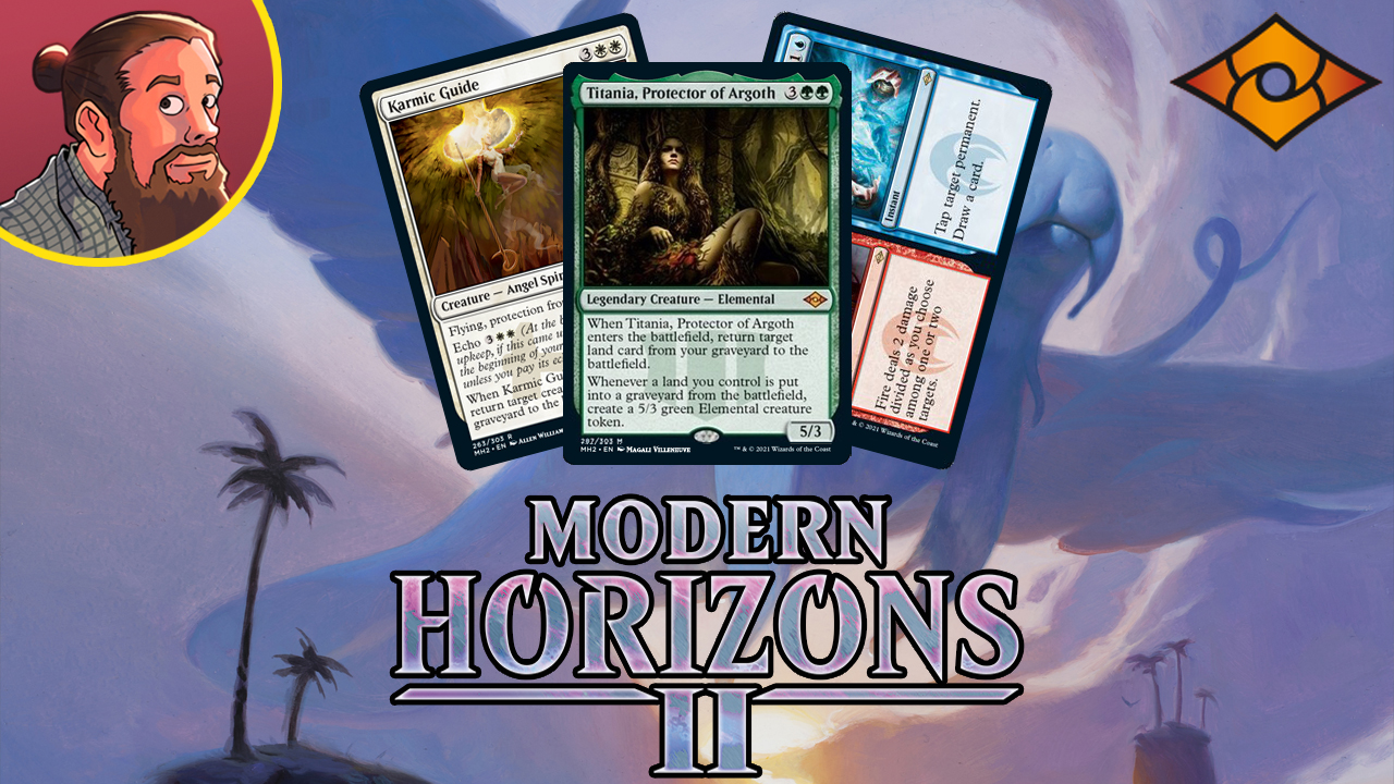 Image for Modern Horizons 2 Spoilers — May 29   Titania, Karmic Guide, Fire // Ice