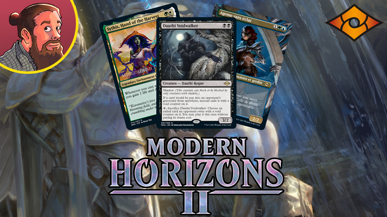 Image for Modern Horizons 2 Spoilers — May 31   Legendary Enchantress, Shardless Agent, Shadow
