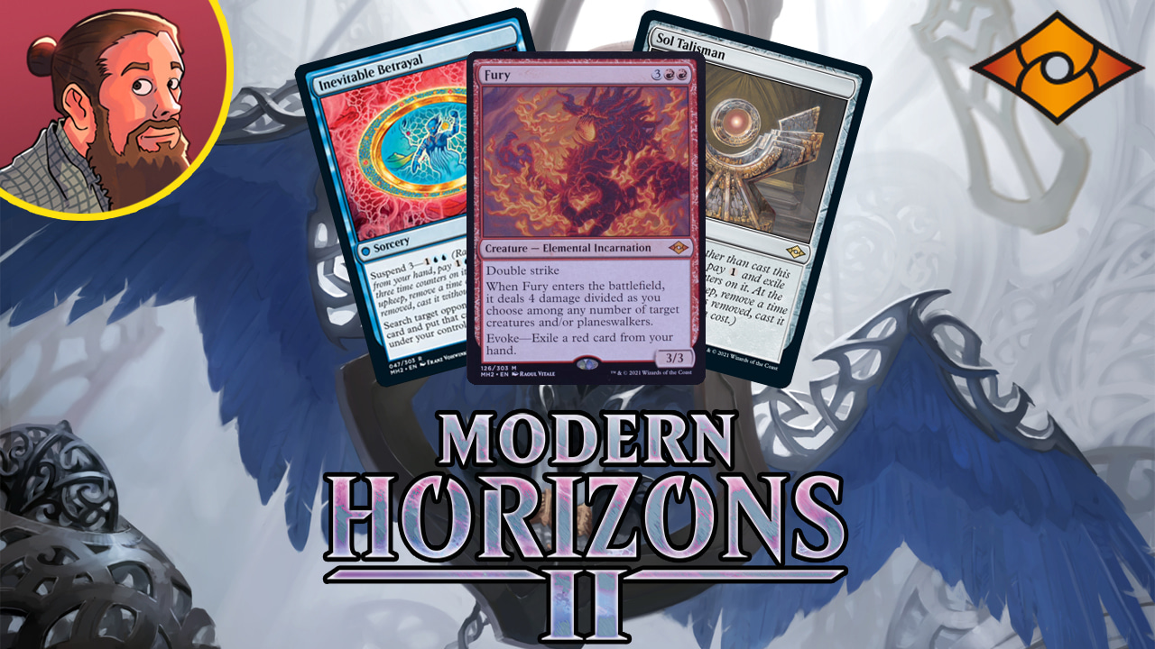 Image for Modern Horizons 2 Spoilers — June 1   Sol Talisman, Inevitable Betrayal, Fury