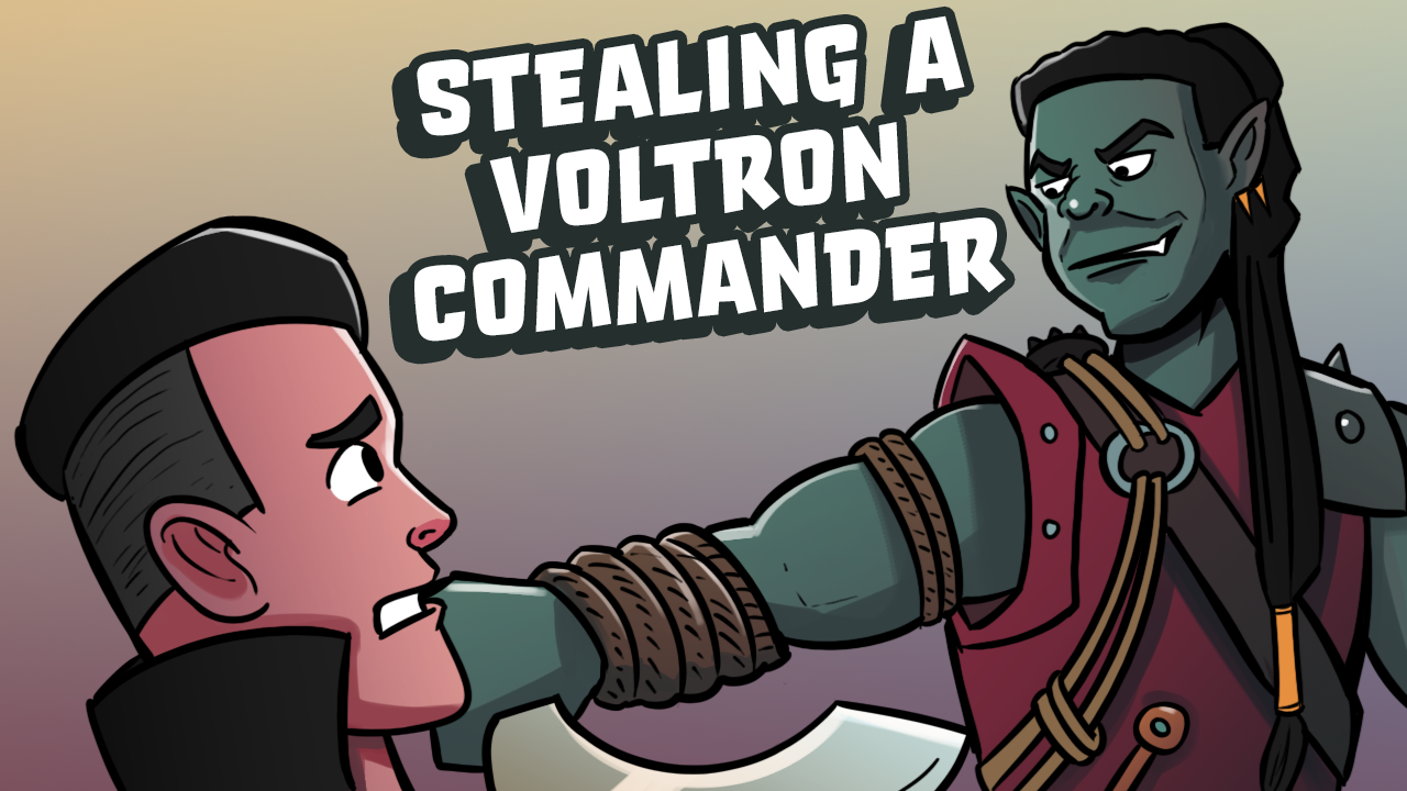 Image for The Best Answer To Voltron | Commander Clash Moment #19