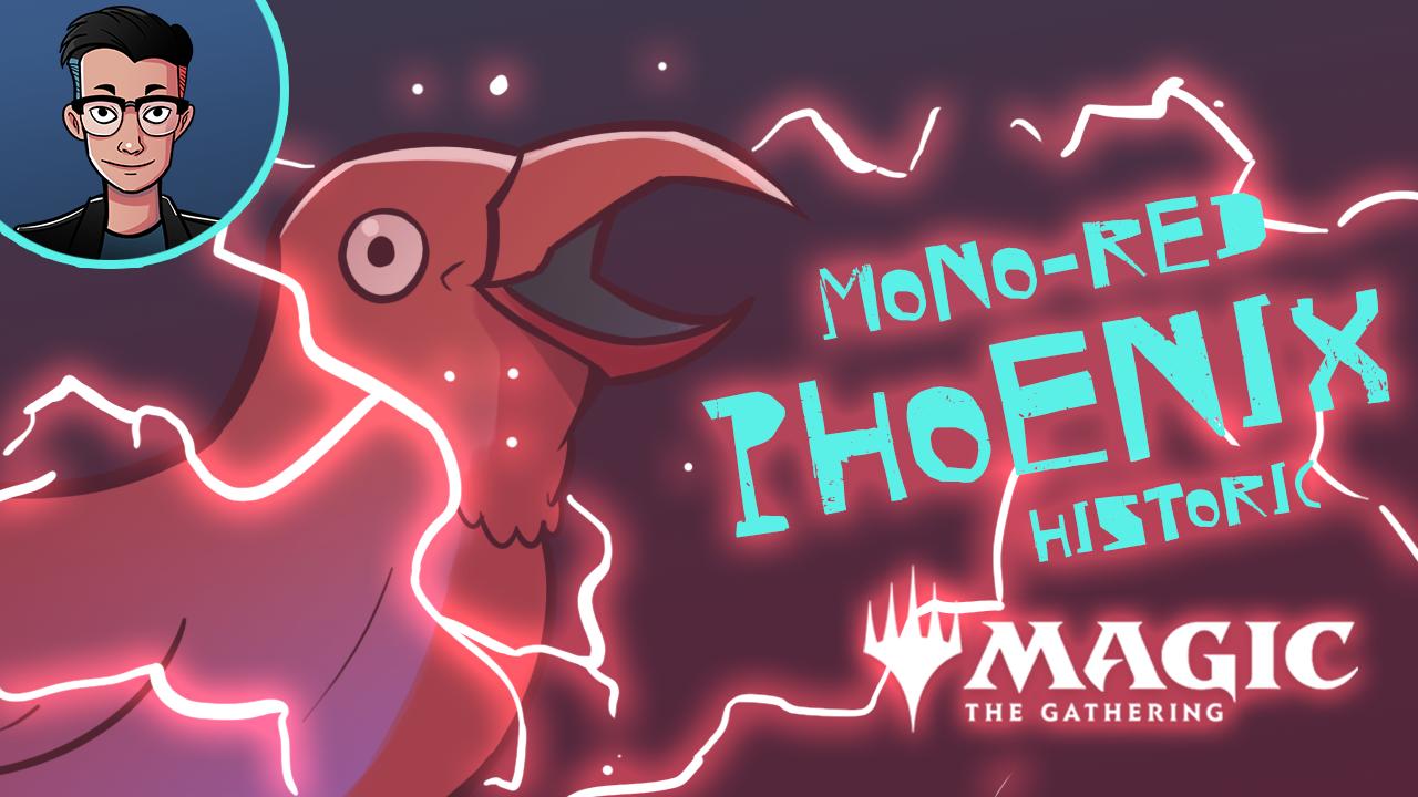 Image for Single Scoop: Mono Red Phoenix (Historic, Magic Arena)