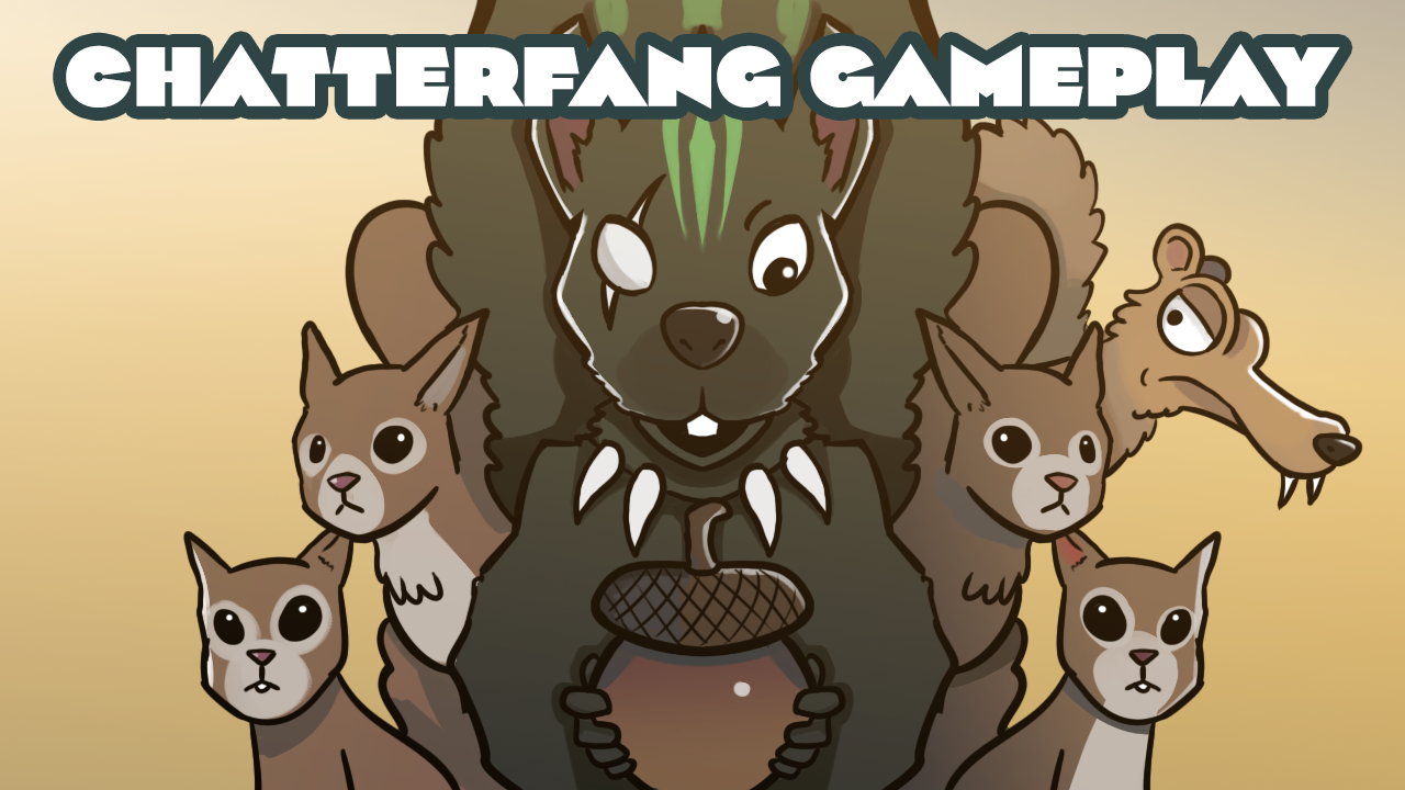 Image for Going Nuts With Squirrel Tribal | Chatterfang, Squirrel General | Commander Abridged Gameplay