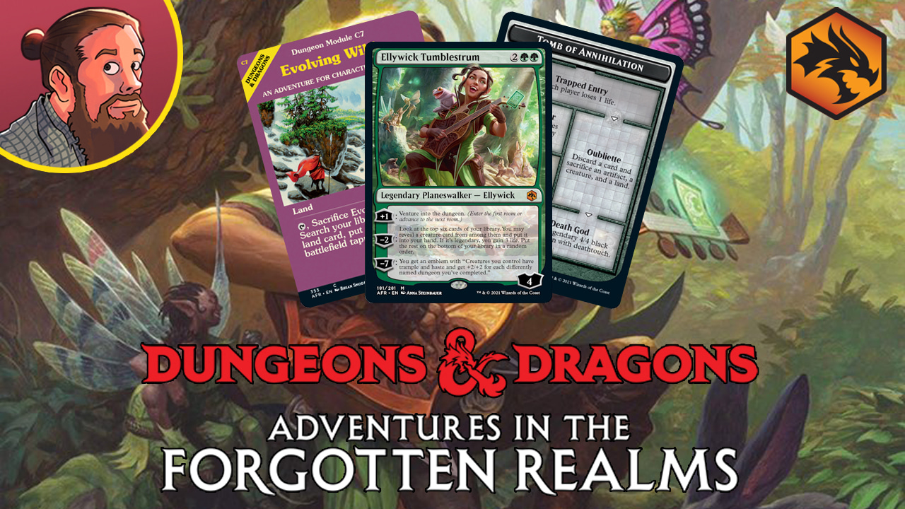 Image for Adventures in the Forgotten Realms Spoilers — June 24 | Dungeons!