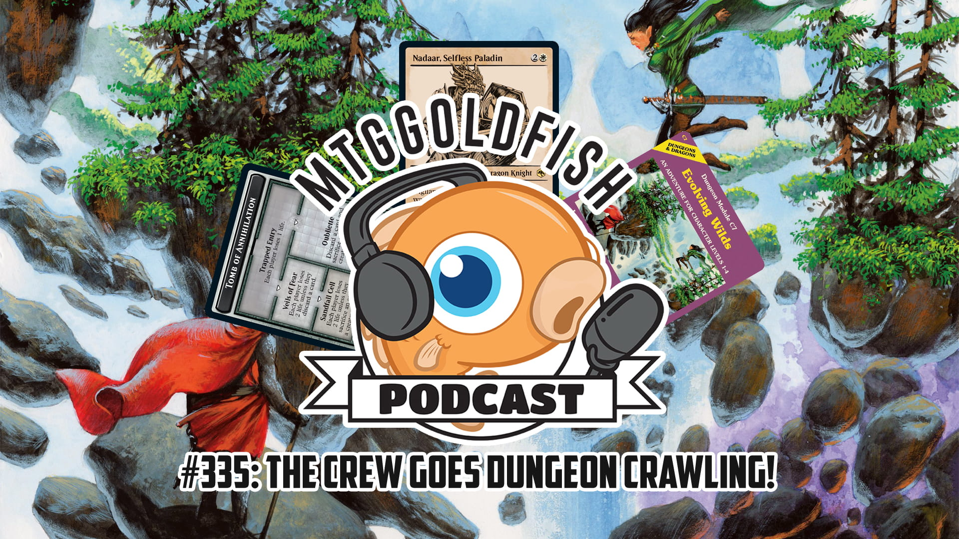 Image for Podcast 335: The Crew Goes Dungeon Crawling