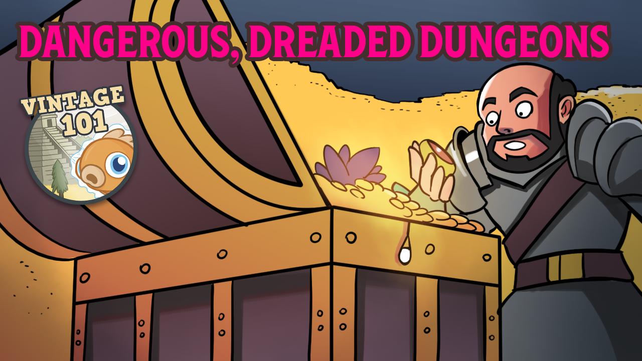 Image for Vintage 101: Dangerous, Dreaded Dungeons
