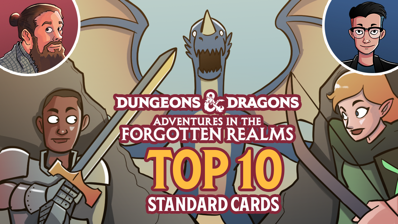 Image for Adventures in the Forgotten Realms: Top 10 Standard Cards