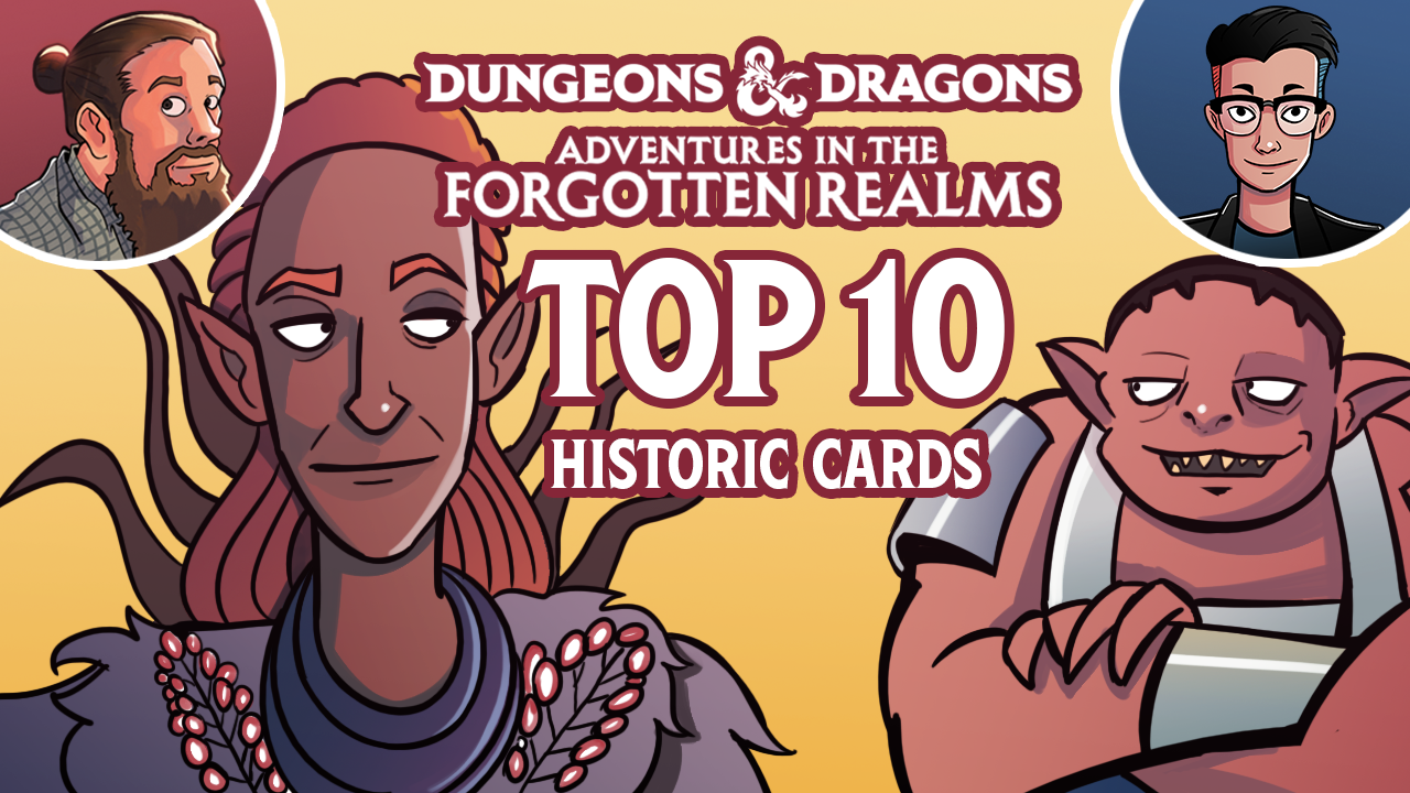 Image for Adventures in the Forgotten Realms: Top 10 Historic Cards