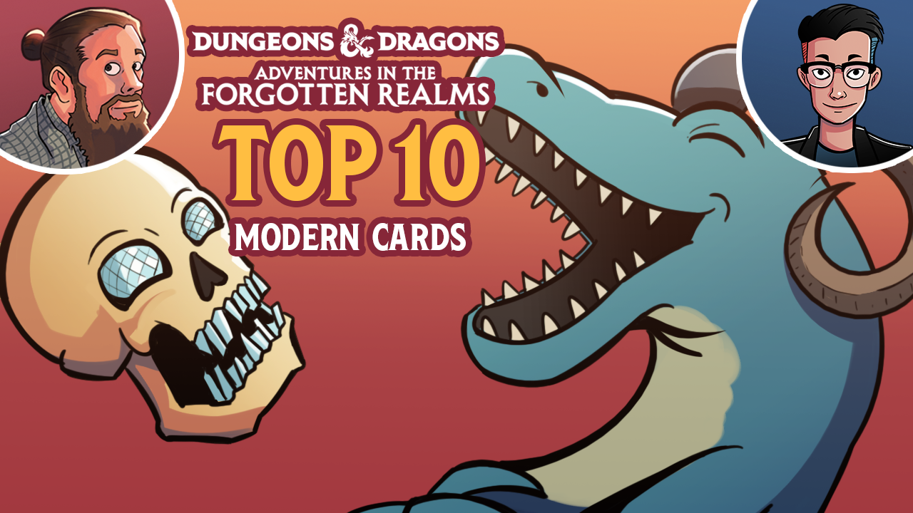 Image for Adventures in the Forgotten Realms: Top 10 Modern Cards