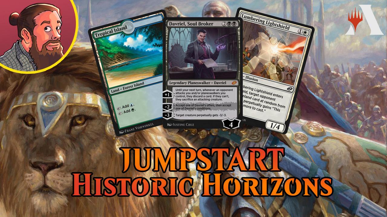Image for Jumpstart: Historic Horizons Spoilers — July 26 | New Digitally Exclusive Mechanics