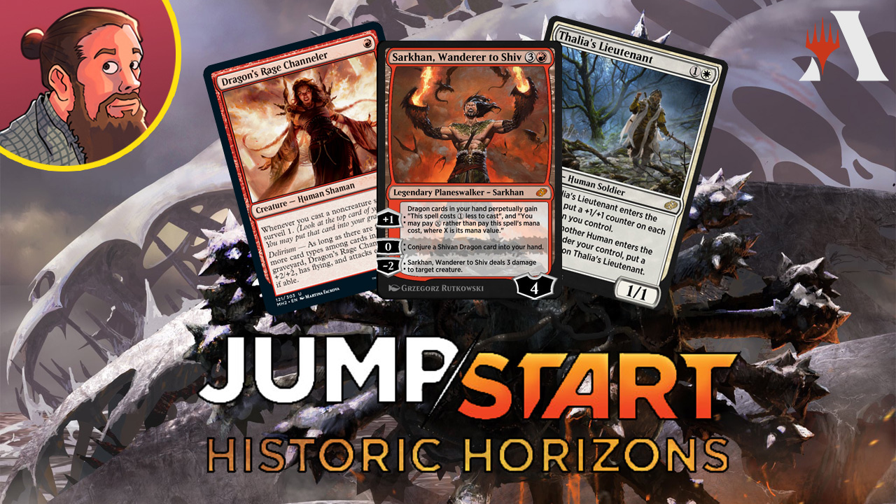 Image for Jumpstart: Historic Horizons Spoilers — July 27 | Sarkhan, Artifacts, Slivers