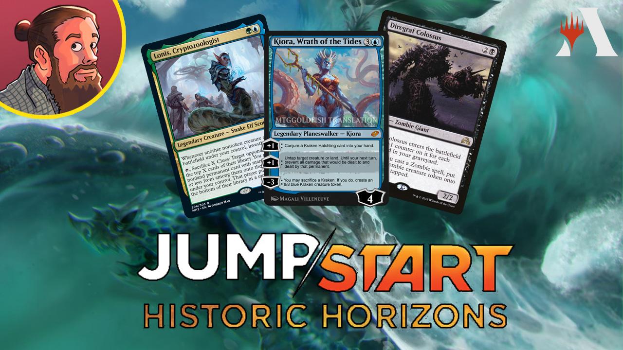 Image for Jumpstart: Historic Horizons Spoilers — July 28 | Kiora, Endling, Squirrels, Enchantress