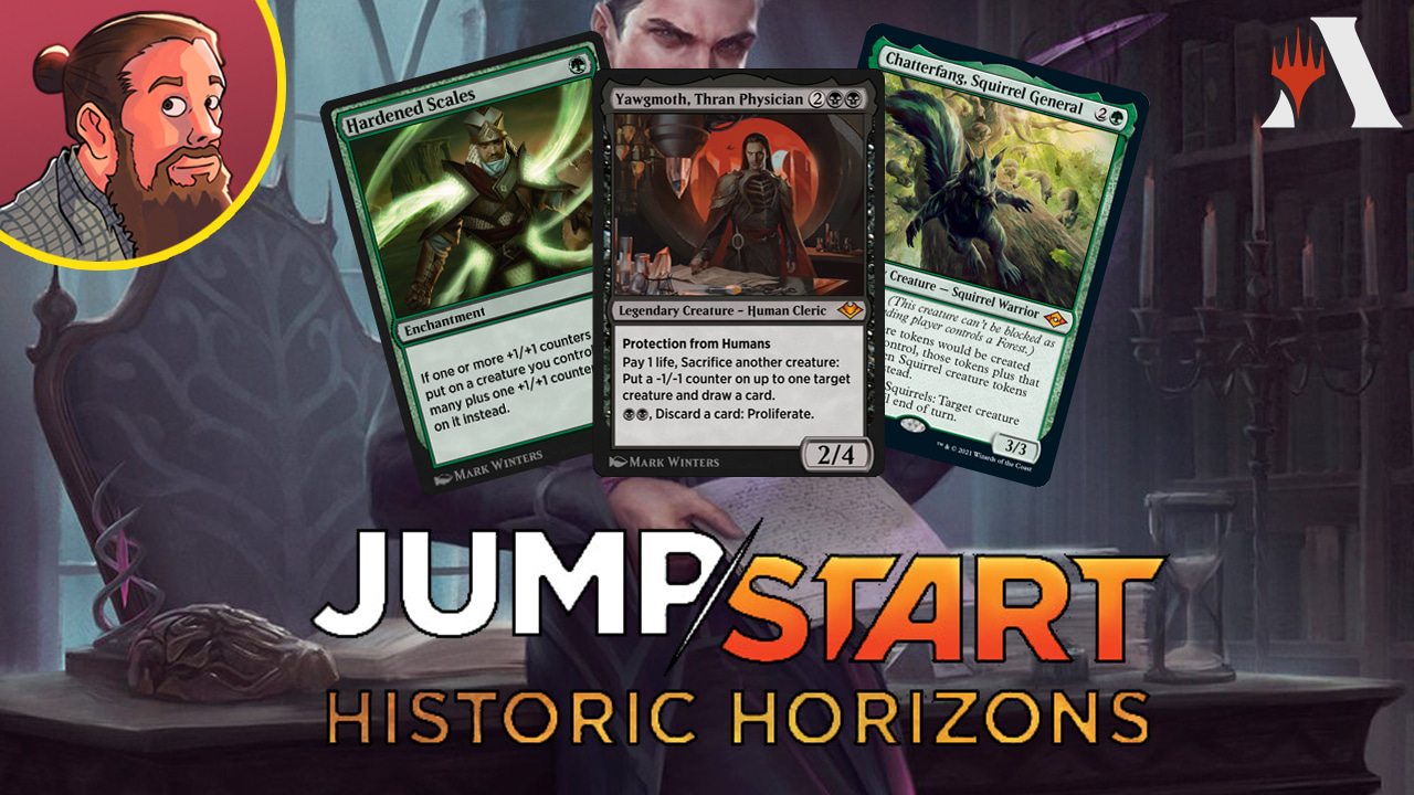 Image for Jumpstart: Historic Horizons Spoilers — July 29 | New Phoenix, Squirrels, Yawgmoth
