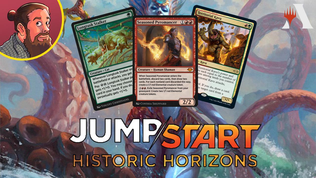 Image for Jumpstart: Historic Horizons Spoilers — July 30 | Seasoned Pyro, Resto Angel