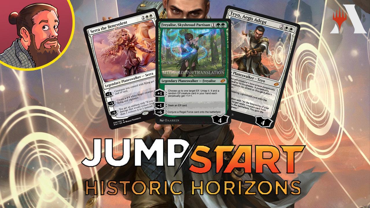 Image for Jumpstart: Historic Horizons Spoilers — August 2 | Teyo, Freyalise, Serra