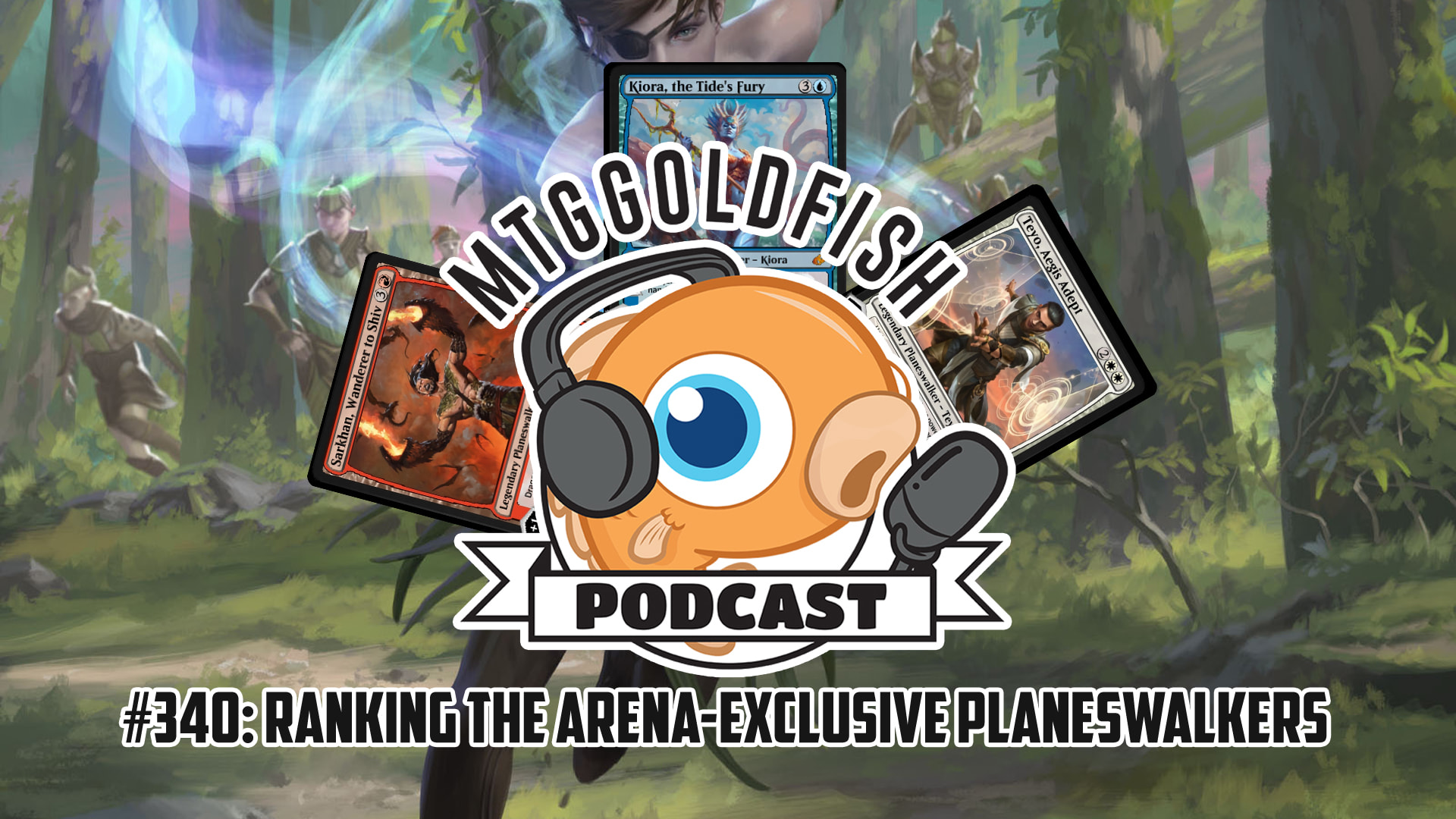 Image for Podcast 340: Ranking the Arena Exclusive Planeswalkers