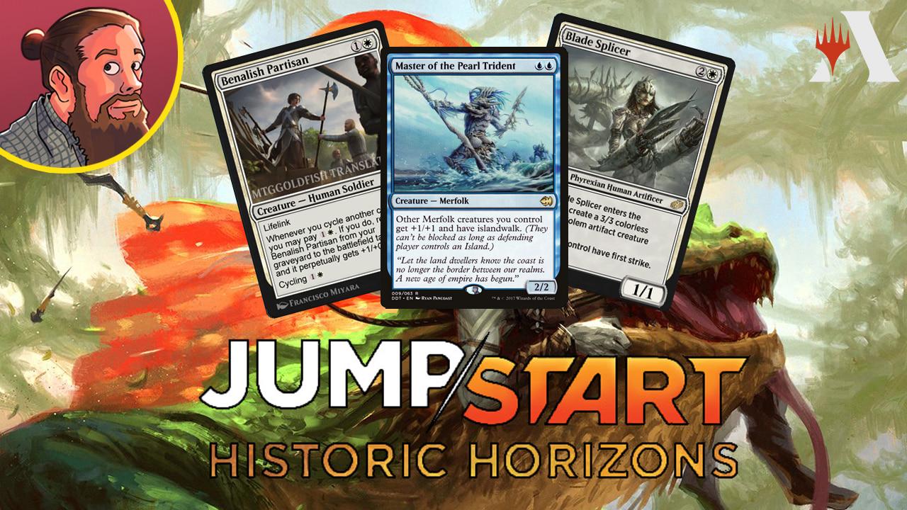 Image for Jumpstart: Historic Horizons Spoilers — August 3 | Merfolk, Bears