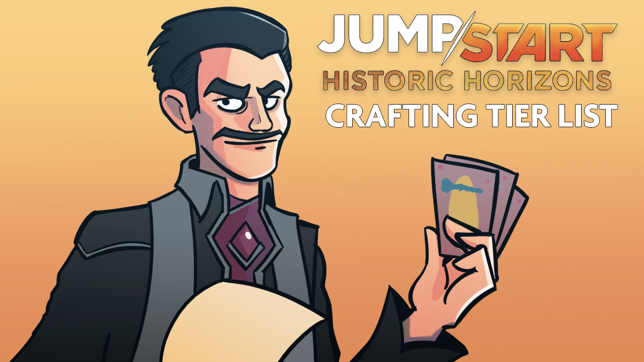 Image for Collecting Jumpstart: Historic Horizons: MTG Arena Wildcard Tier List