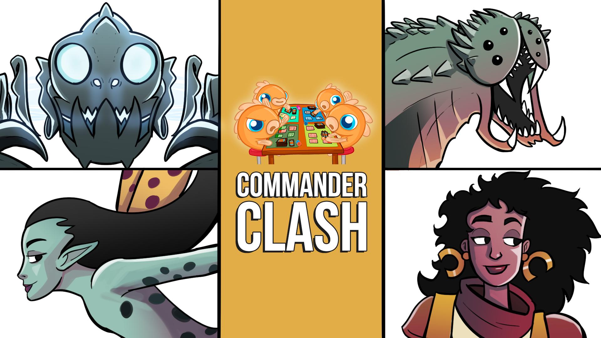 Image for Commander Clash S11 E3: We Play Modern Decks in Commander