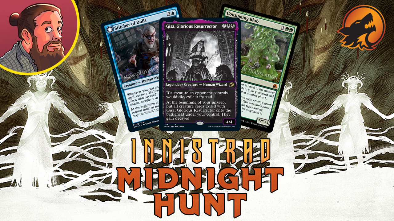 Image for Innistrad: Midnight Hunt Spoilers — September 3 | Gisa, Tarmo-ooze, Stitcher of Dolls