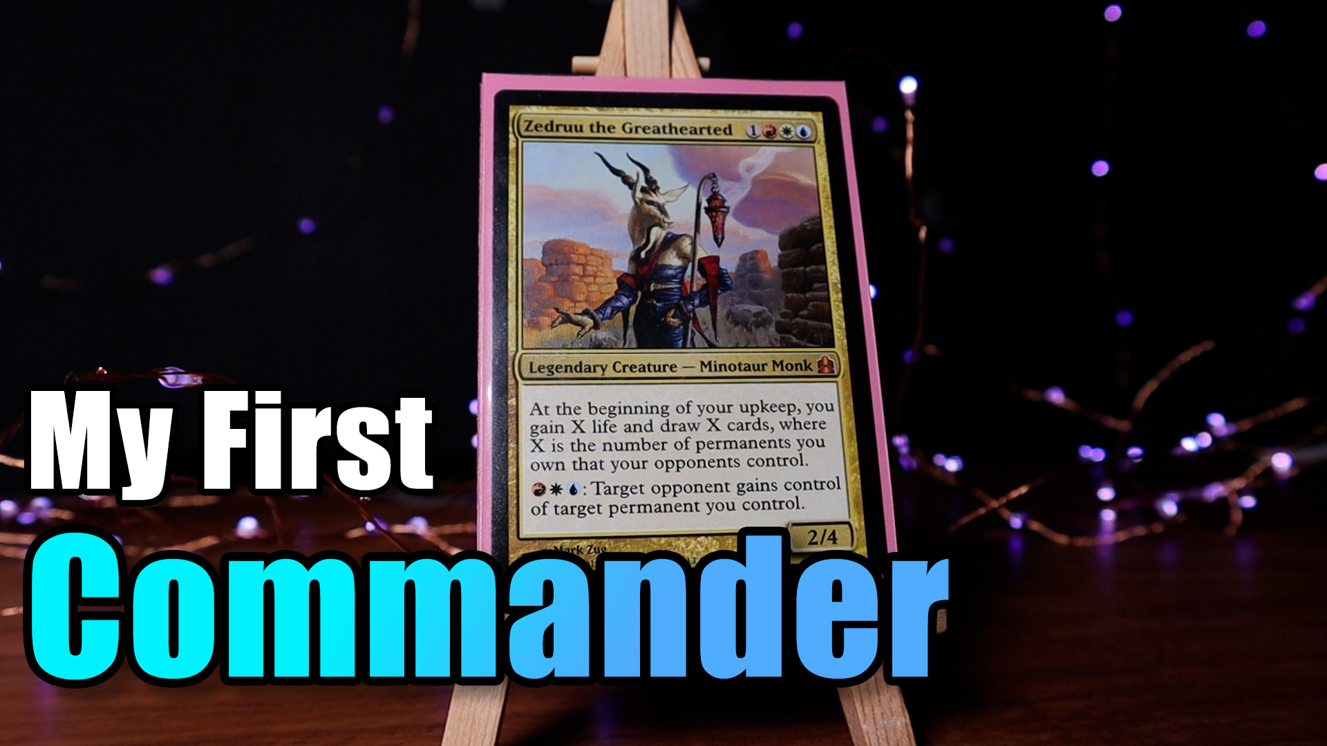 Image for A Chill Tour Of My First Commander Deck   Zedruu the Greathearted   MTG Deck Tour
