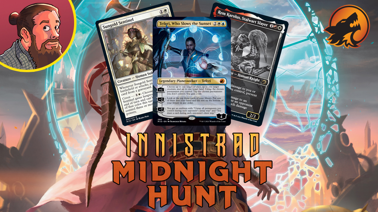 Image for Innistrad: Midnight Hunt Spoilers — September 8 | Teferi, Who Slows the Sunset