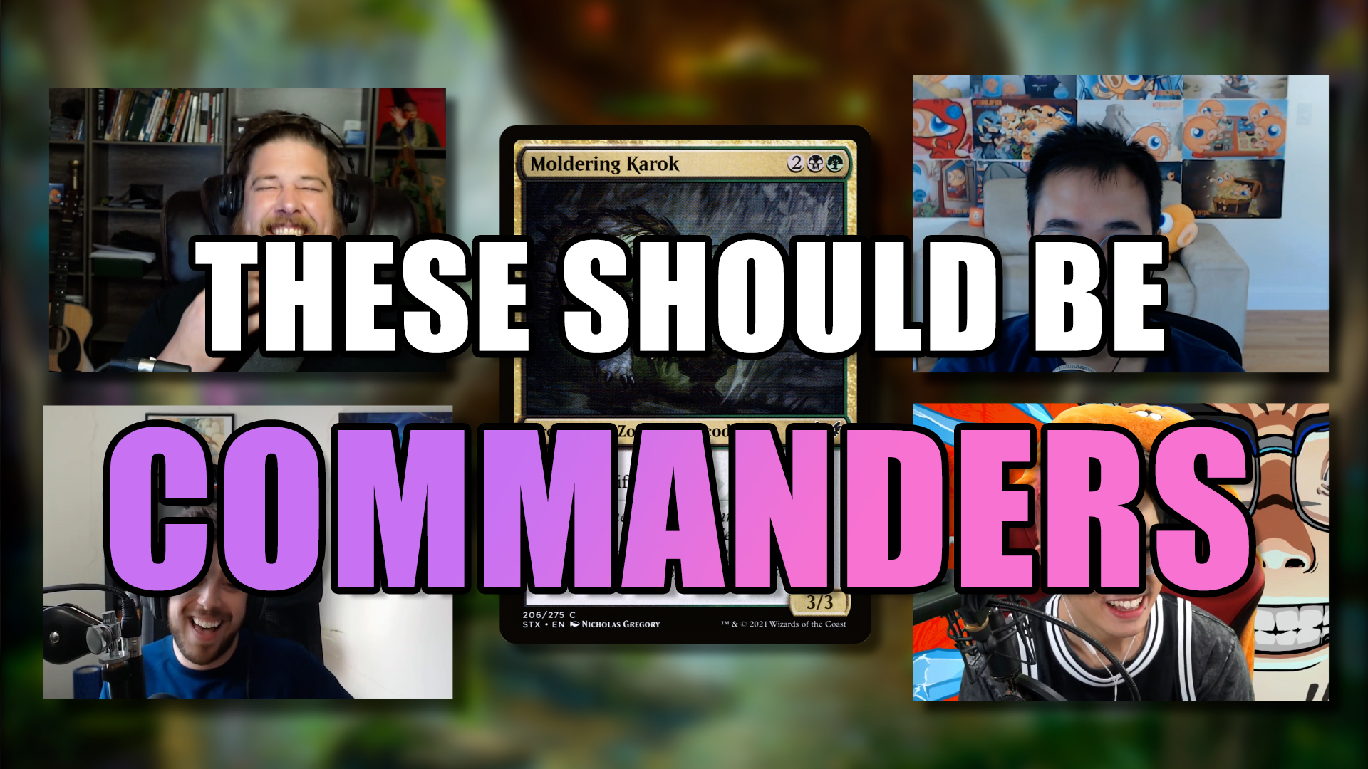 Image for Commander Clash Podcast 017: Top Creatures We Want As Commanders