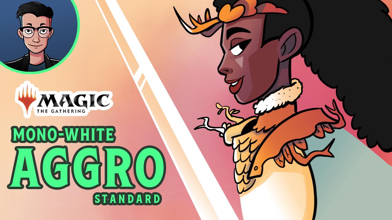 Image for Single Scoop: Mono White Aggro (Standard)