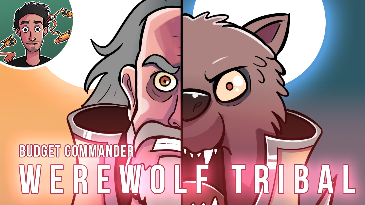 Image for Budget Commander: Werewolf Tribal | Tovolar, Dire Overlord | Midnight Hunt