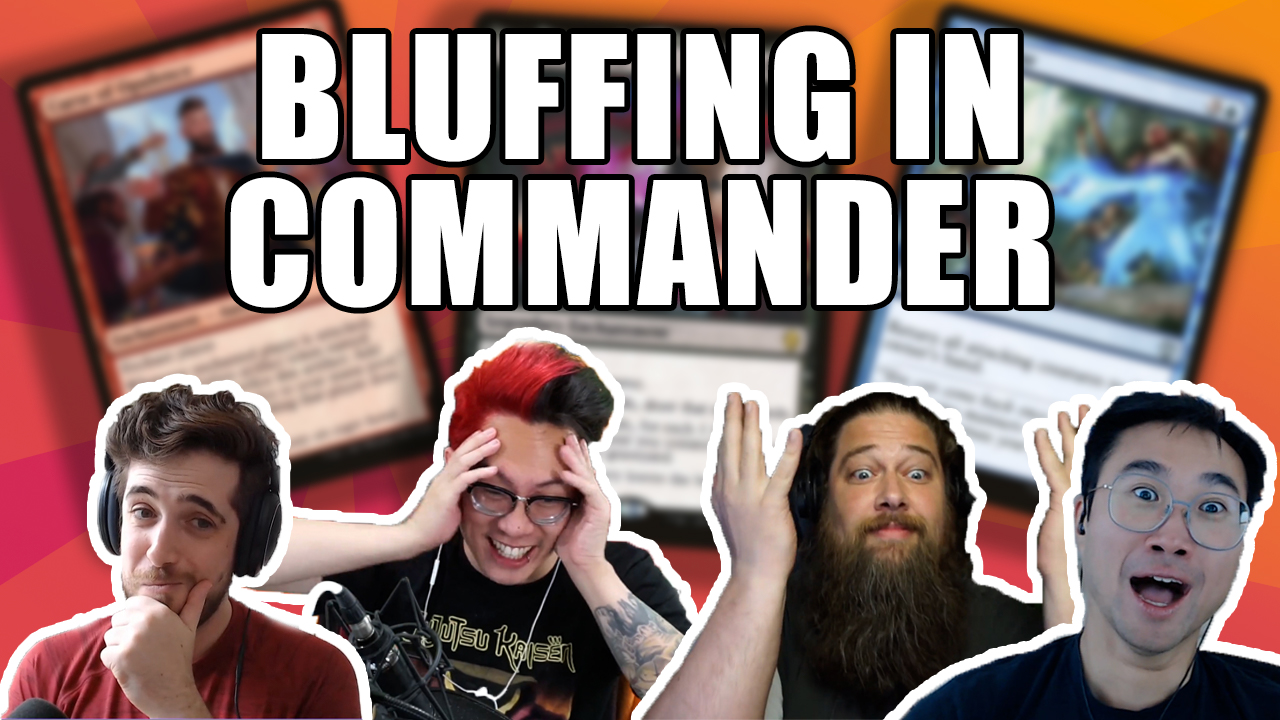 Image for Commander Clash Podcast 018: The Art Of Bluffing