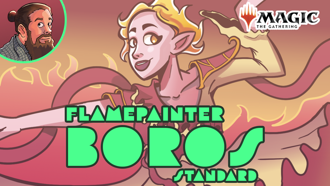 Image for Much Abrew: Flamepainter Boros (Standard)