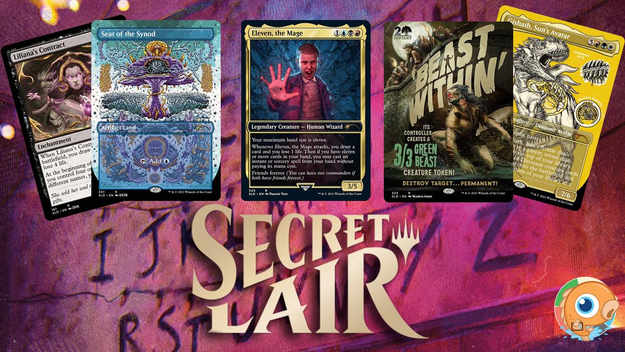 Image for Secret Lair Spoilers — Stranger Things, October Superdrop