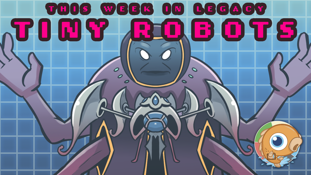 Image for This Week in Legacy: Tiny Robots