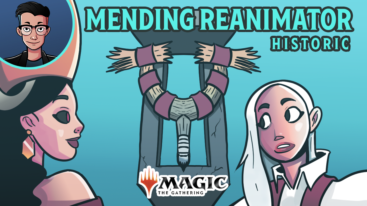Image for Single Scoop: Mended Reanimator (Historic, Magic Arena)