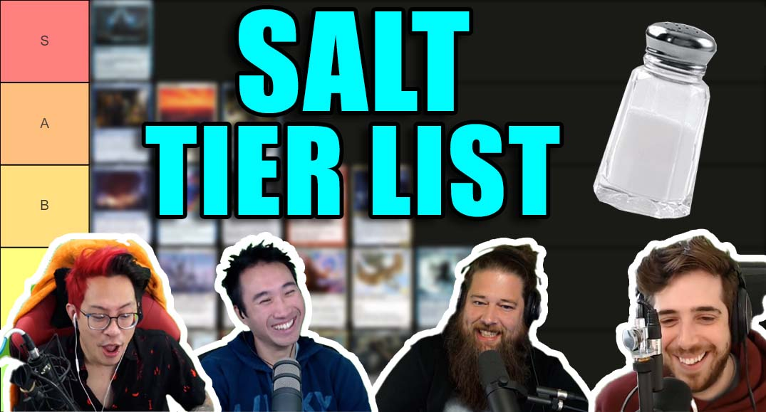 Image for Commander Clash Podcast 020: The Saltiest Tier List Ever