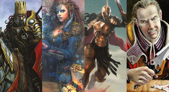 Image for Commander Clash: Darien, Sydri, Kalemne and Starke