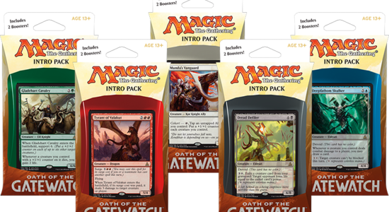 Image for Oath of the Gatewatch Intro Pack Decklists