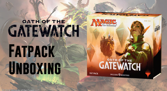 Image for Oath of the Gatewatch Fat Pack Unboxing