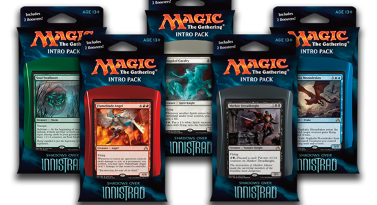 Shadows over Innistrad Intro Pack Decklists